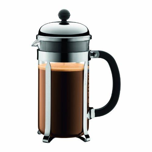 Bodum Chambord 8 Cup French Press Coffee Maker 34 Oz Chrome