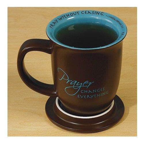 Prayer Changes Everything Coaster Mug